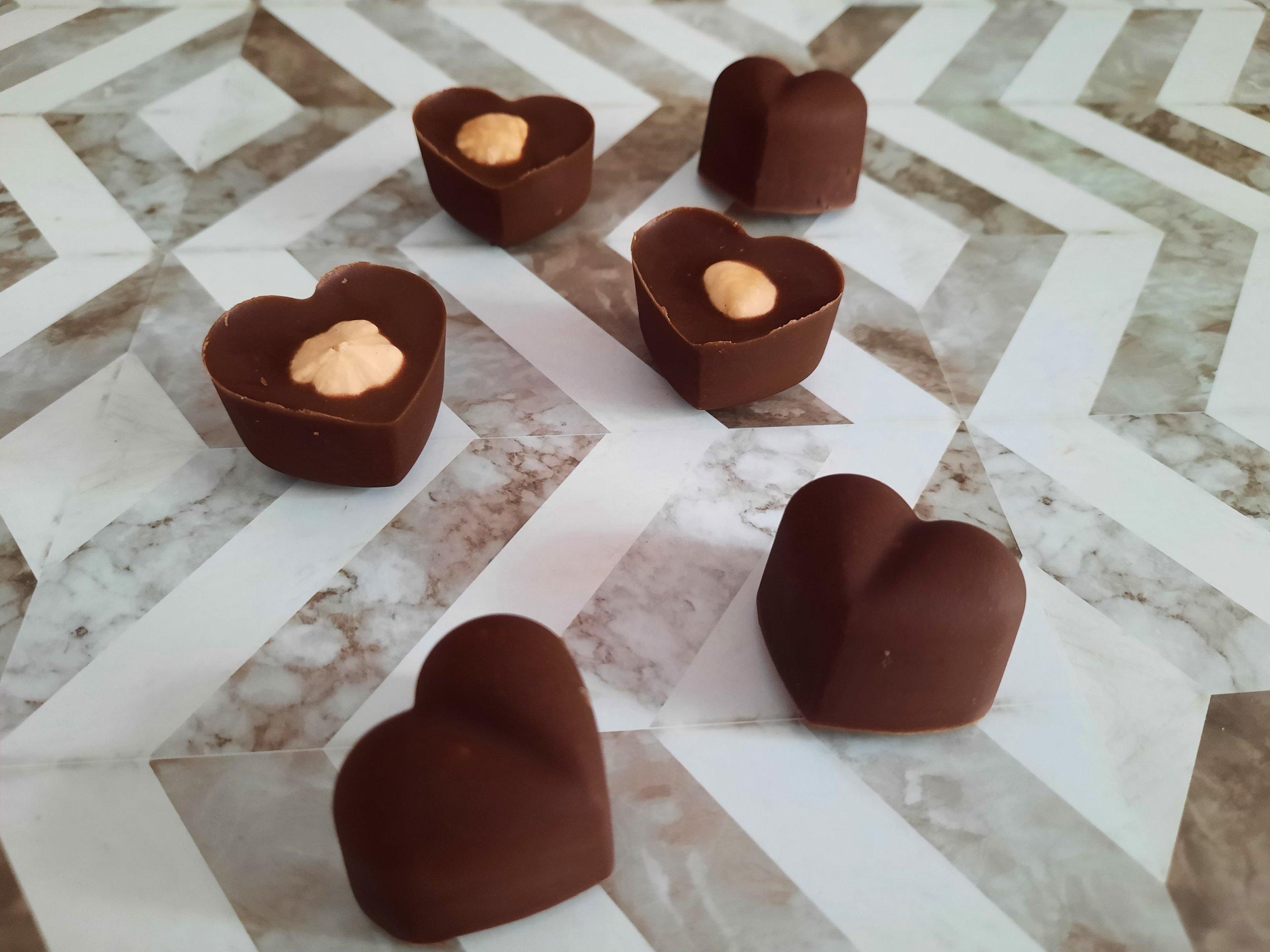 Die beste selbstgemachte Schokolade