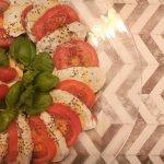 tomate mozzarella salat